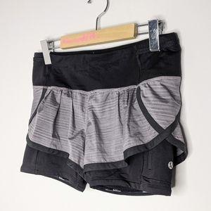 Lululemon run: speed squad shorts size 4